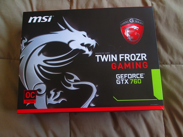 MSI Twin Frozr GeForce GTX 760 OC Edition Box