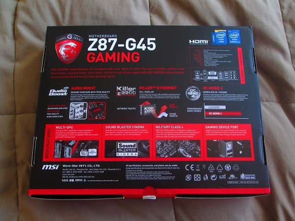 MSI Z87-G45 Gaming Mother Board (3)