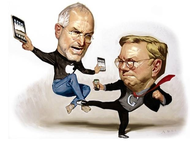 Steve-Jobs-Fights-Eric-Schmidt-War