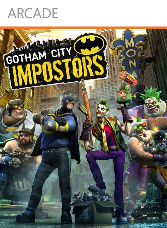 Gotham City Imposters Box Art