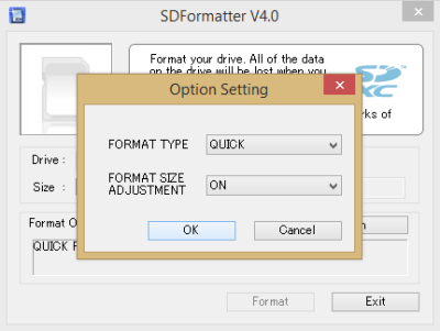 sdformatter-screenshot
