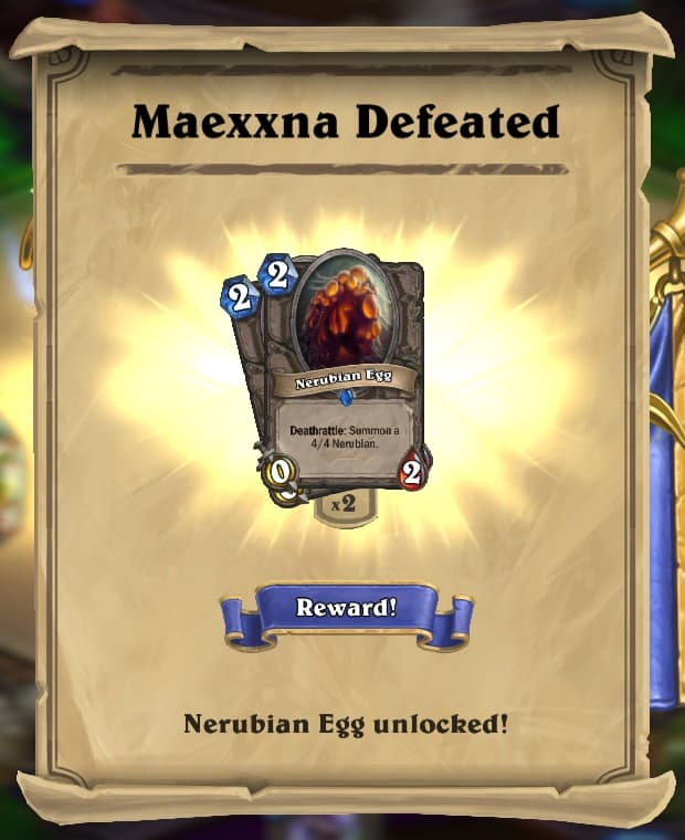 Maexxna Reward Card