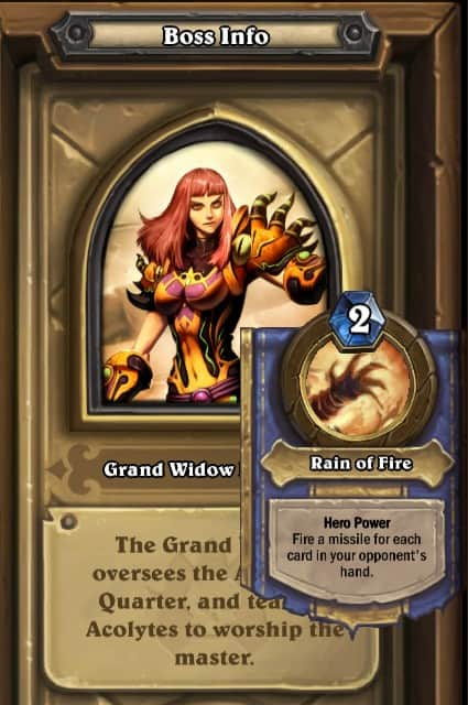 Grand Widow Faerlinas Normal Hero Power