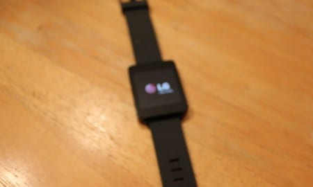 G Watch boot screen