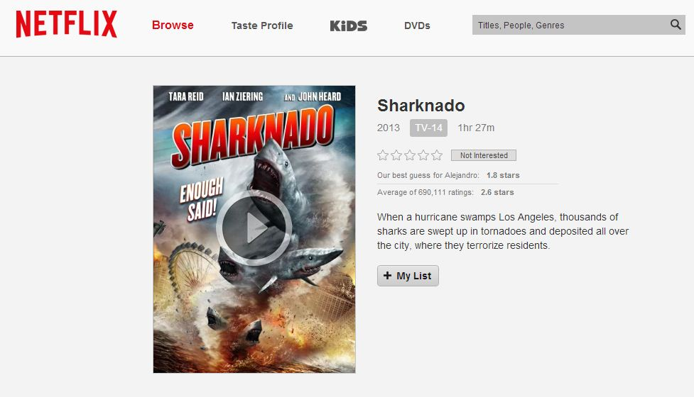 Sharknado-Netflix-Privacy-Mode