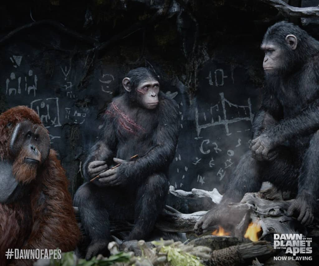 Dawn of the Planets of the Apes Buddie