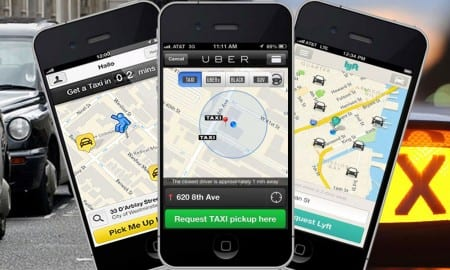 uber protest featured