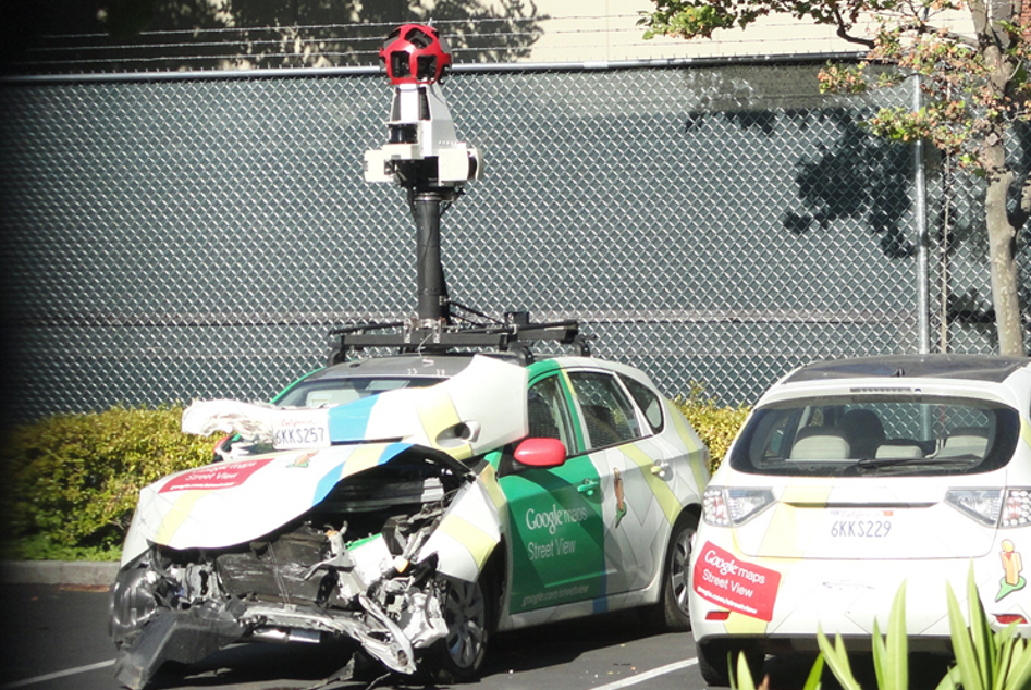 Accidents In Google Car