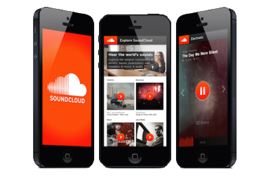 soundcloud adverts app