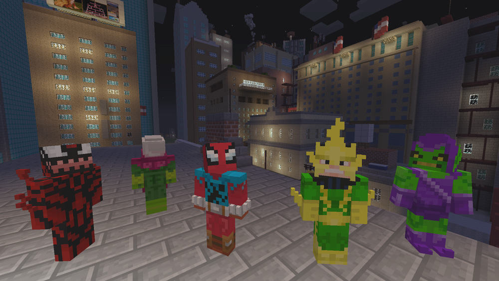 Minecraft-MarvelSpiderman-Xbox-One-Screenshot