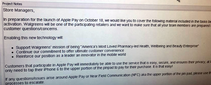 Is-Apple-Pay-Coming-To-Walgreens-A-Leaked-Memo-Answers-Yes