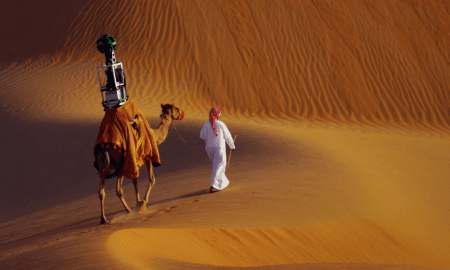 Google-Maps-Street-View-Camel