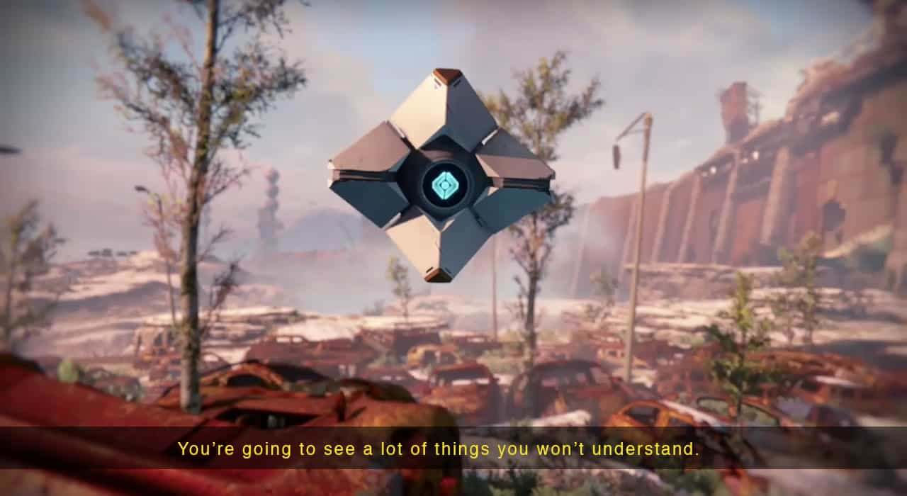 The character Ghost in Destiny
