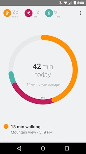 The Google Fit App Has A Very Clean Minimal Health Tracking Interface Providing You With Way To Record Your Basic Information Like Steps And Activity