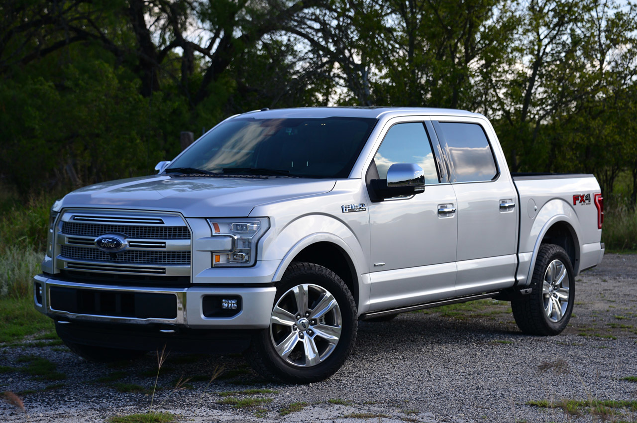 reference photo not actual aluminium F-150