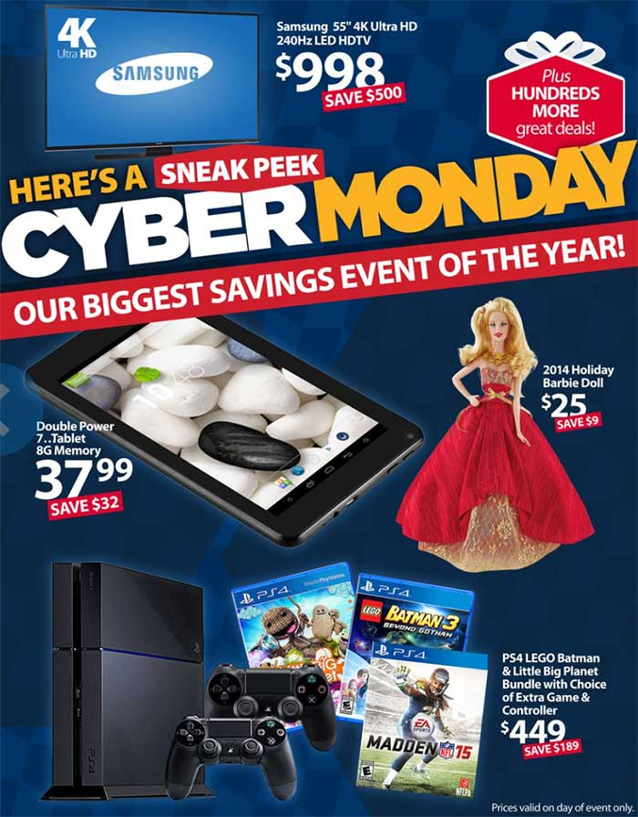 Cyber Monday Cons: Most of the deals hit stores, or even online, on Black Friday, meaning by the time Cyber Monday rolls around, some of the best savings have already been sold out.