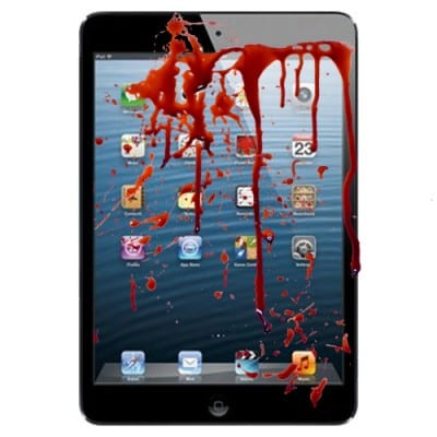 tech killing ipad