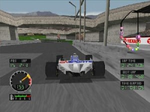 Andretti Racing in all its PS1 glory.