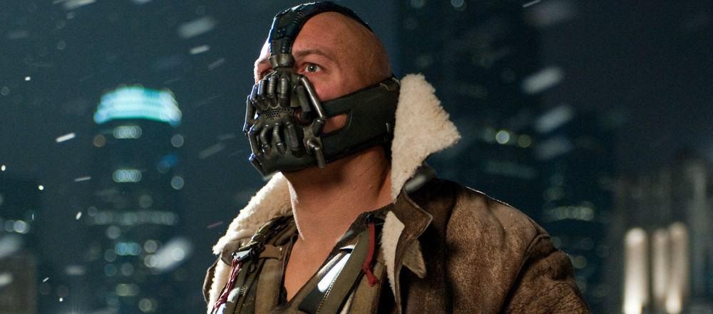 Tom Hardy as Bane in 2012