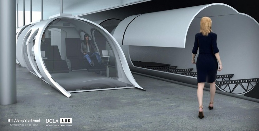 Image Courtesy of HyperLoop