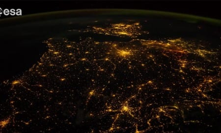 ISS-time-lapse-footage