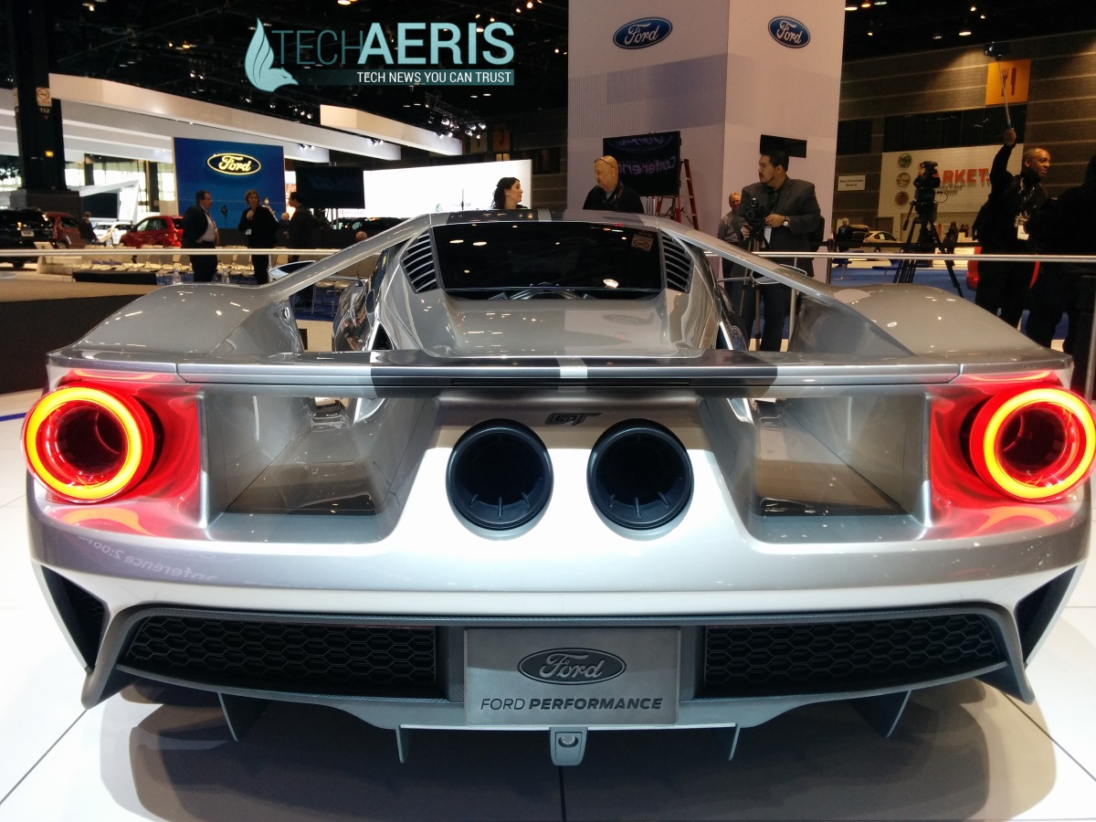 Chicago Auto Show 2015 Ford GT Concept Back