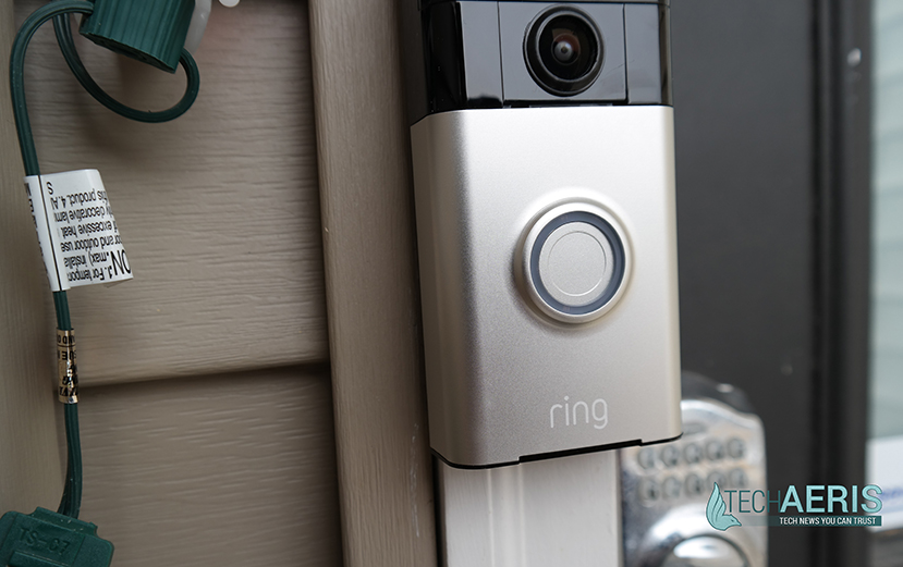 ring video doorbell review see who 39 s at your door from. Black Bedroom Furniture Sets. Home Design Ideas