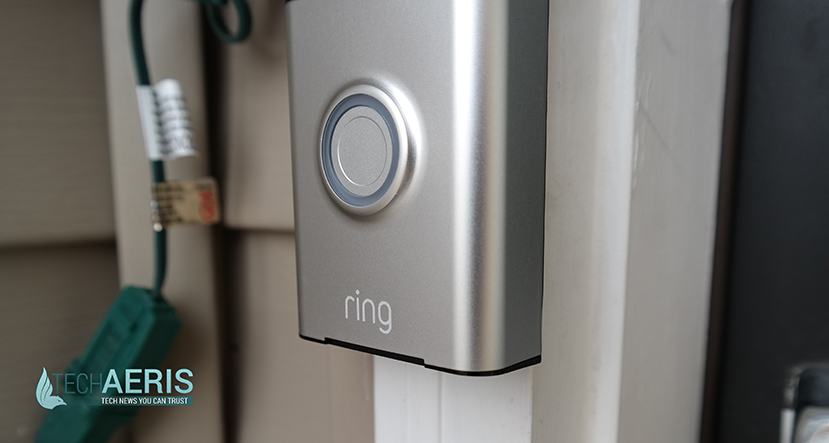 Ring Video Doorbell Review See Who S At Your Door From