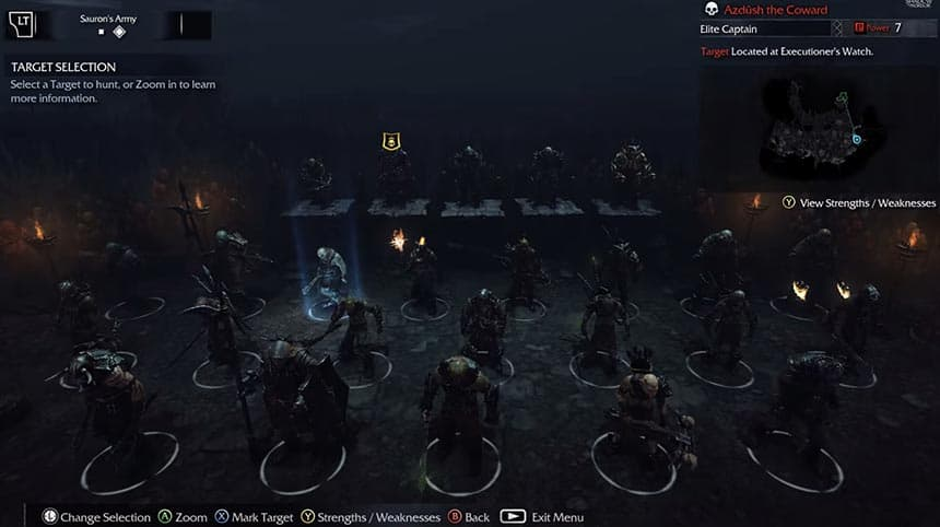 Shadow-of-Mordor-Review-Saurons-Army