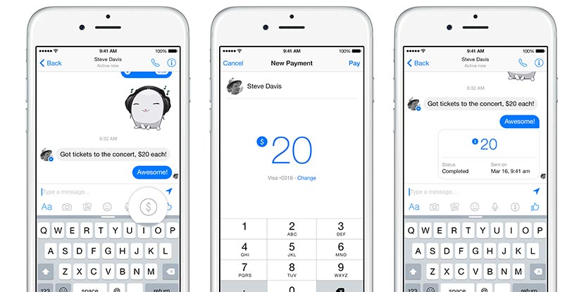 Facebook-Messenger-Send-Money
