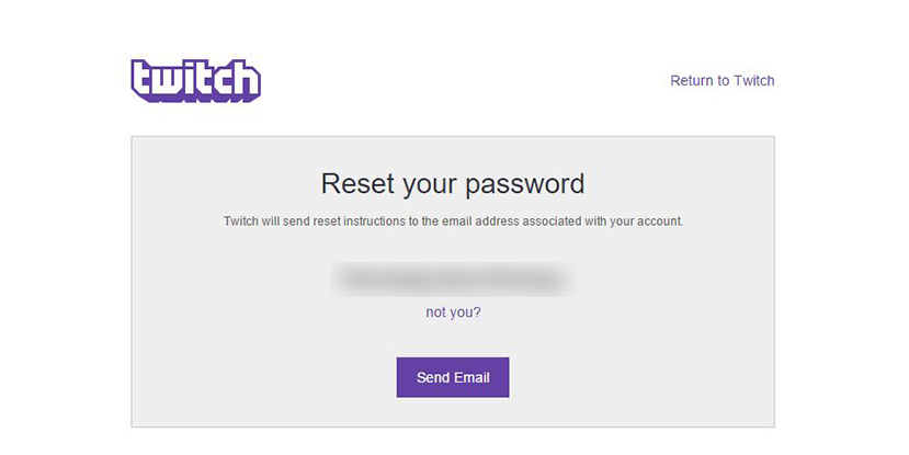 UPDATED: Twitch Passwords Compromised