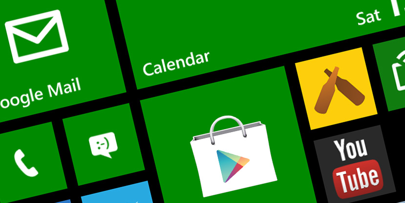 Windows-Phone-8.1-Google-Play