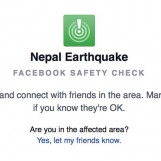 Facebook Activates Safety Check For Nepal Earthquake Victims