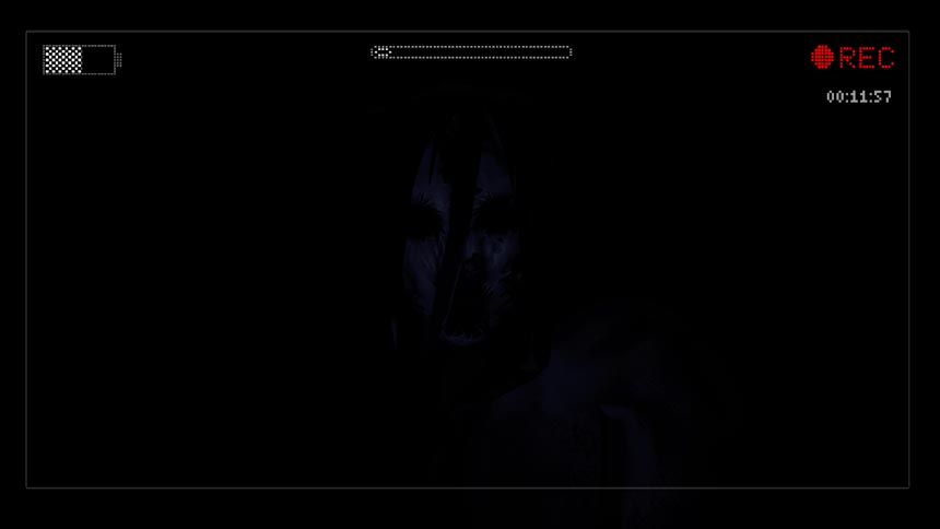 Slender: The Arrival Review Creepy Face