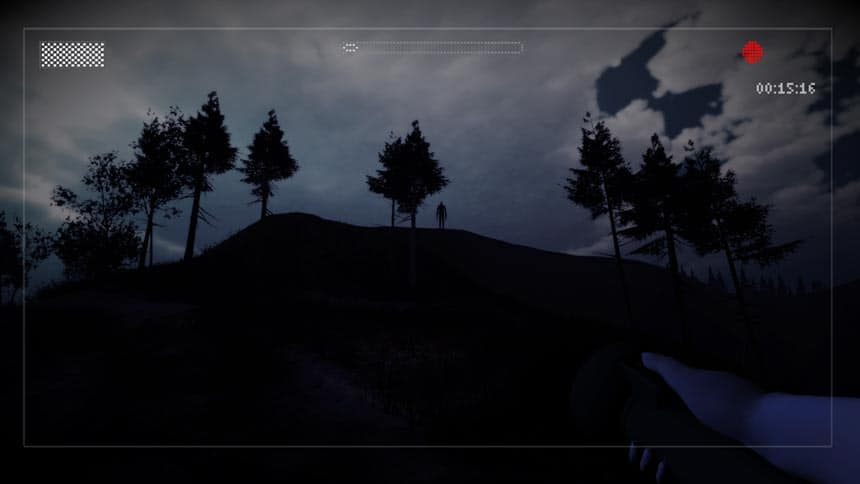 Slender: The Arrival Review Slender Man on Hill