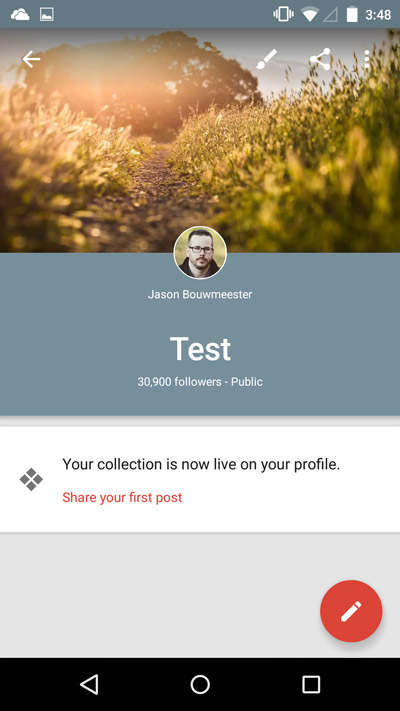 Mobile-Google-Collections-Test-Collection-Live