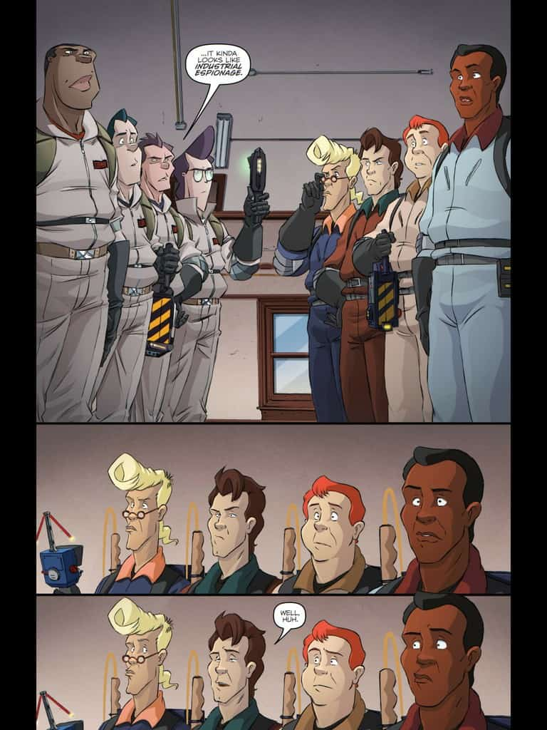 Ghost Busters Get Real #1