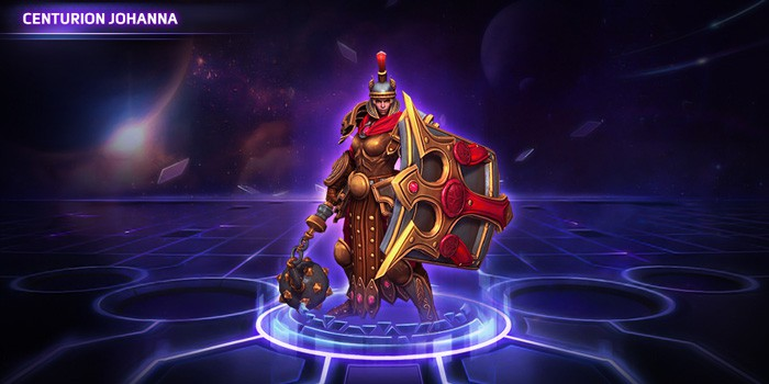 Heroes of the Storm: Centurion Johanna