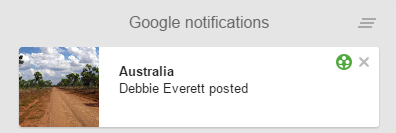 G+notification