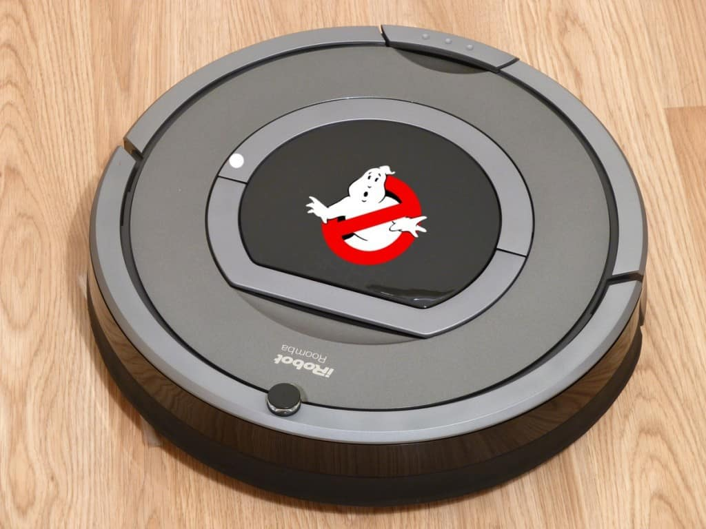 Ghostbusters reboot Roomba