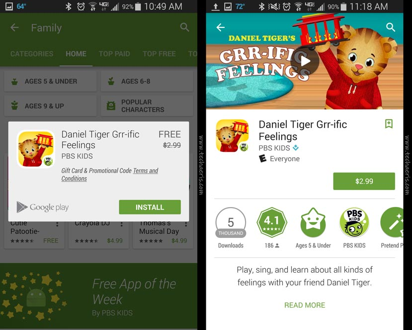 Google-Play-Store-Free-Family-App