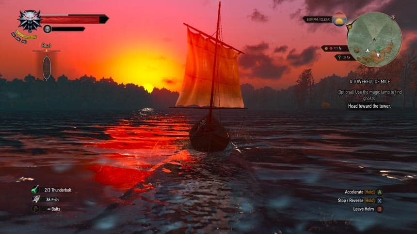 The-Witcher-3-Wild-Hunt-Sunset