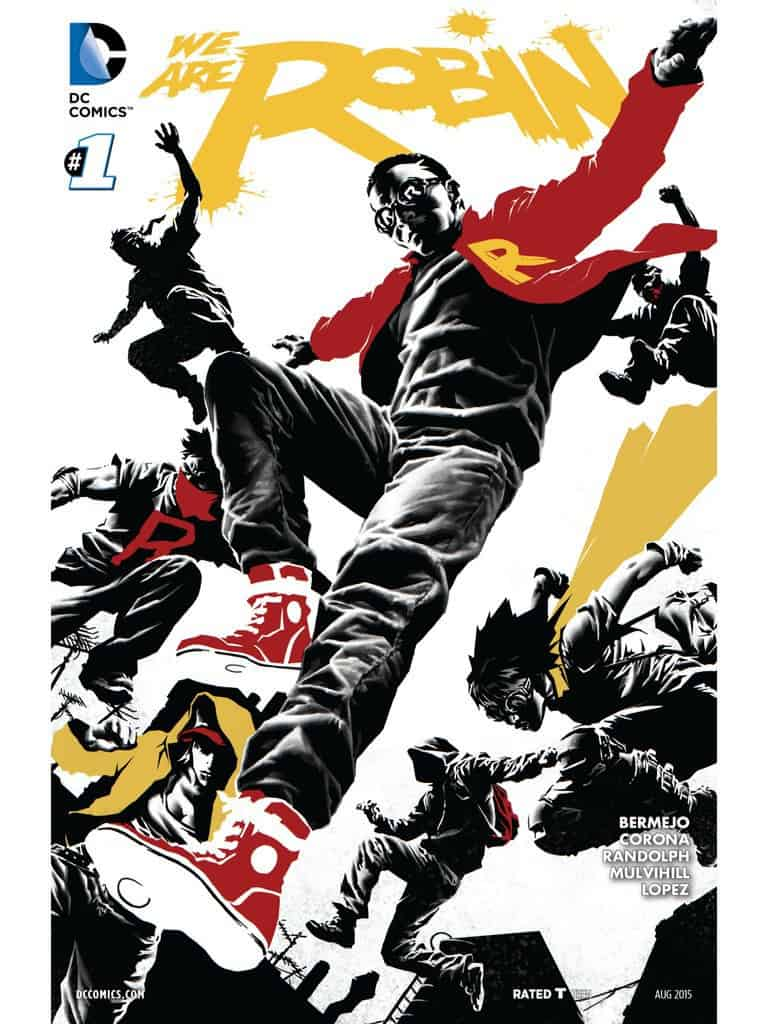 We Are Robin #1 Cover