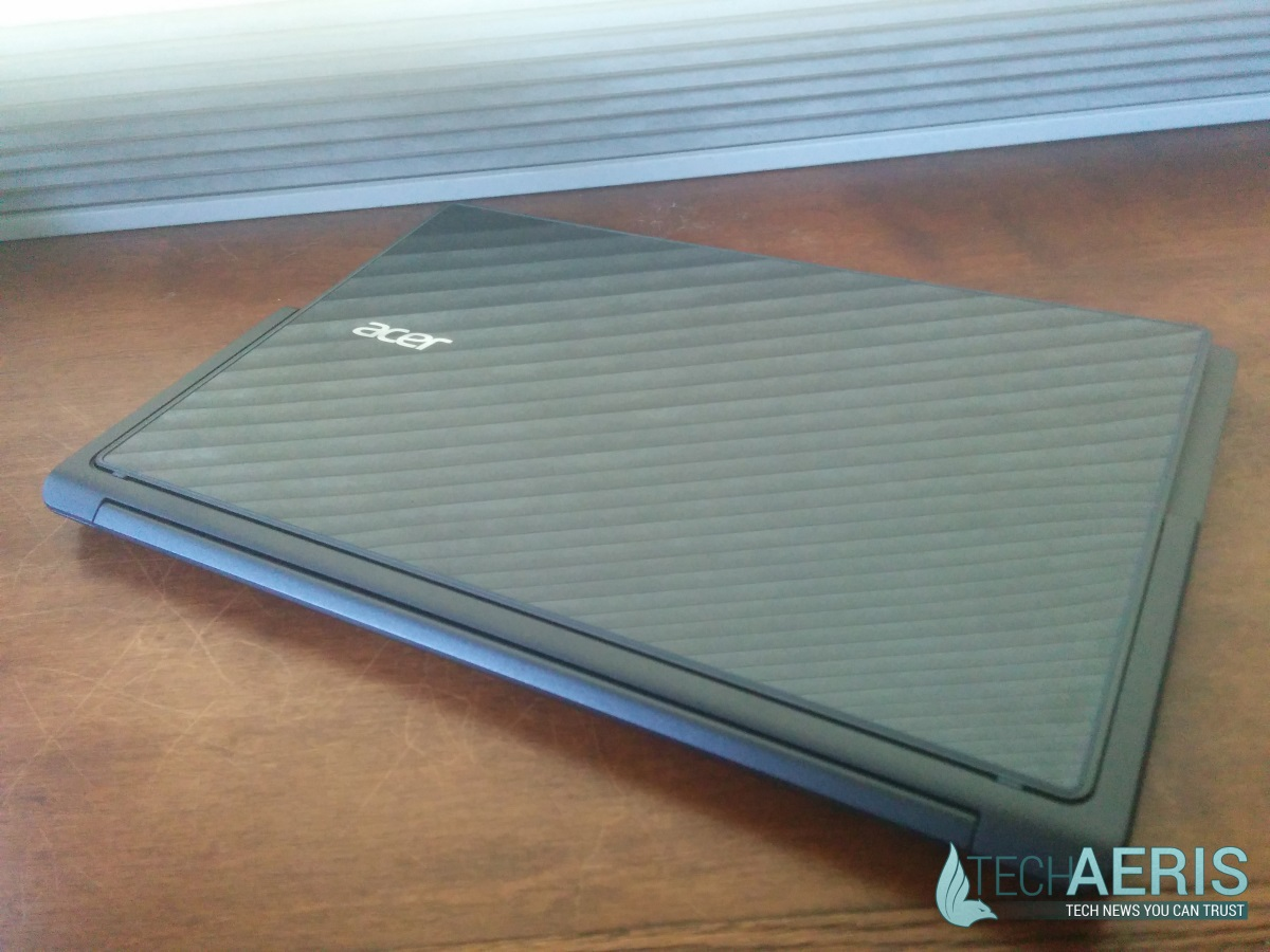 Acer Aspire R13 Review - Closed