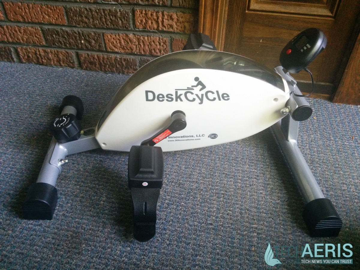 DeskCycle Side View
