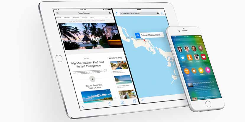 ios 9 preview ipad iphone