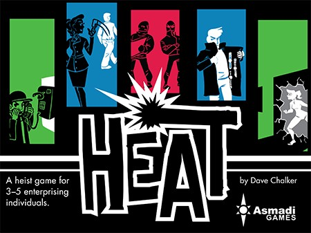 Heat - Heist Card Game Gen Con 2015