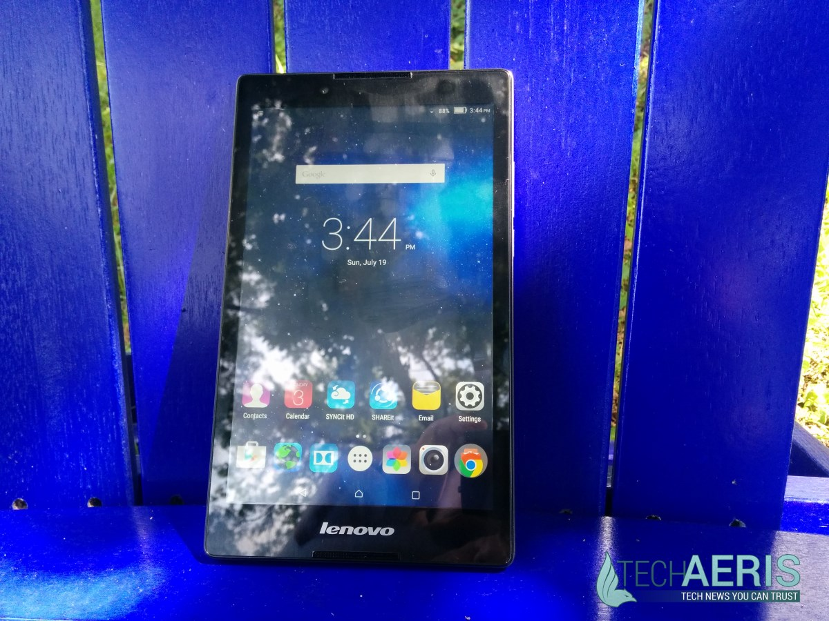 Lenovo Tab 2 A8 Review Screen