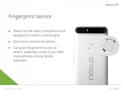 Huawei Nexus Fingerprint