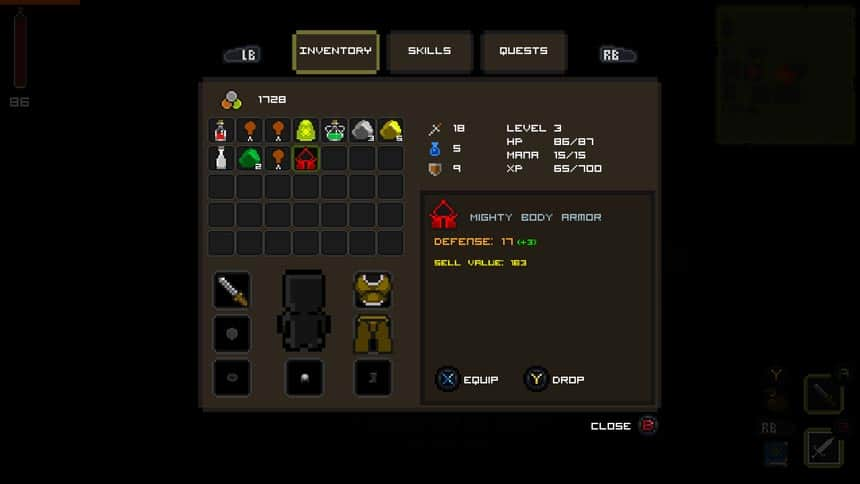 Quest-of-Dungeons-Inventory